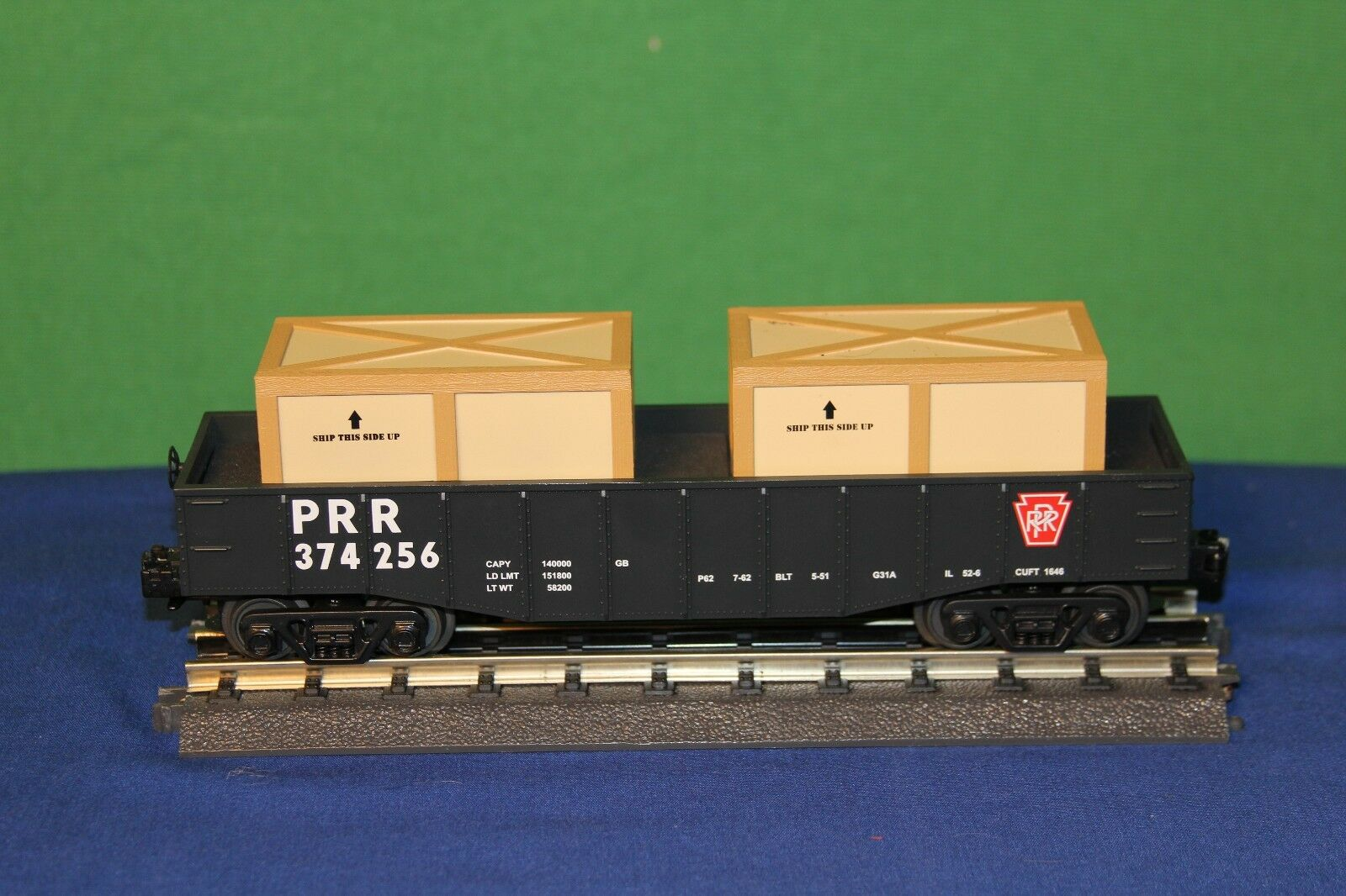 compra en línea hoy MTH rail king o-calibre Pennsylvania (repetición) góndola W    374256 de dos cajas extraíble  precios ultra bajos