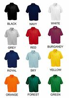 CUSTOM PRINTED PERSONALISED POLO SHIRT mans womans STAG HEN WORK WEAR UNIFORM