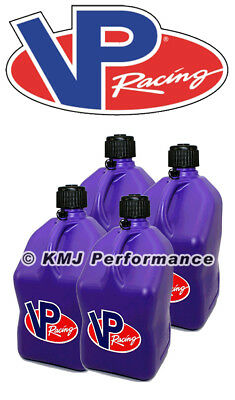 4 Fill Hoses Round Fuel Gas Can Jug NHRA IMCA USMTS VP Racing White 4 Pack
