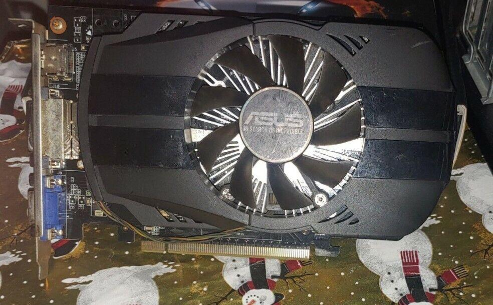 Original ASUS NVIDIA GeForce GTX 750 Ti 2 GB 128 Bit GDDR5 Video Graphics Card