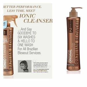 Brazilian Blowout Original Professional Straightening Solution 12 Oz Cleanser Ebay