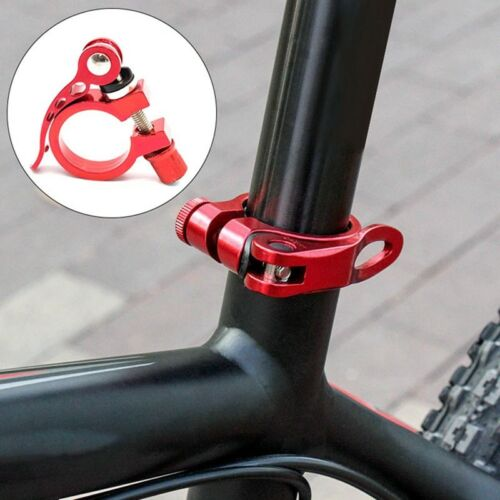 Alloy Cycling Bike Bicycle Quick Release Seat Post Bolt Binder Clamp @qin VtLnR