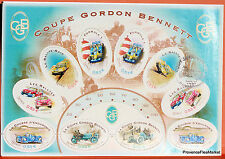 Yt BF 86  COUPE GORDON BENNET   FRANCE  FDC  NOTICE PHILATELIQUE  PREMIER JOUR