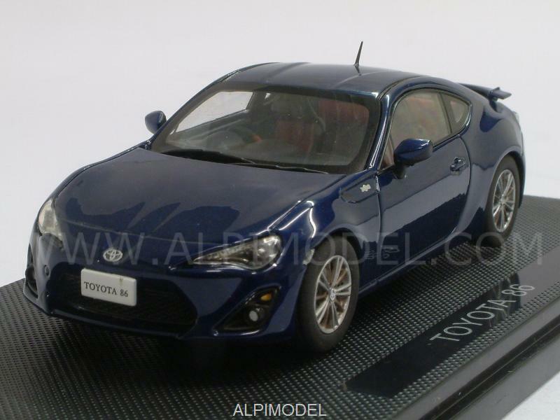 Toyota GT86 bluee 1 43 43 43 EBBRO 44845 96ad41