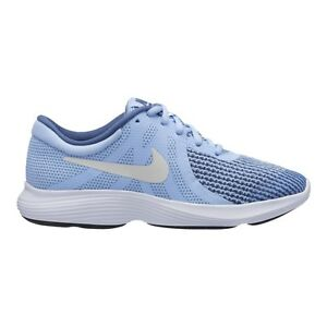 c8abb4b72842a NIKE REVOLUTION 4 GS BABY BLUE Women s Shoes Girl Sneakers 943306 ...
