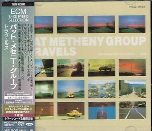 Pat-Metheny-Group-034-Travels-034-Japan-SACD-w-OBI-NEW-SEALED-Tower-Records