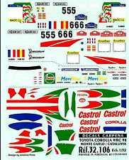 Colorado Decals 1/32 TOYOTA COROLLA WRC 98 Monte Carlo & Catalunya