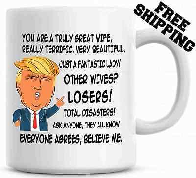 Gift for MOM Donald Trump Terrific Mom Funny Mug Christmas Gift
