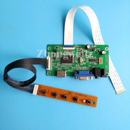 HDMI VGA LED Controller Board driver Kit EDP 30pins for LP156WHB-TPA1 1366*768