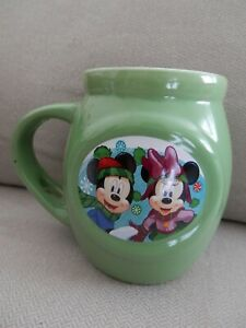 Frankford-Candy-Company-Disney-Mickey-amp-Minnie-Mouse-Mug-Cup-16-Ounces-EUC