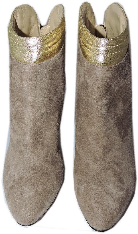 575 para Aquatalia Marvin K botas botas K Cuña al Tobillo Botines Zapatos 6.5 De Gamuza Beige 192ff3