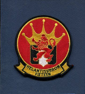 NAVY HS-15 HELICOPTER SUBMARINE SQUADRON PATCH