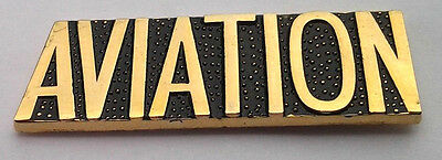 AVIATION U.S. Military Veteran Hat Pin P15726 EE