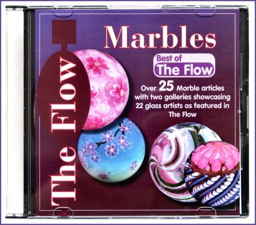 "The Flow MARBLES /""Best of/"" CD mit 25 Murmel-Tutorials im PDF-Format"