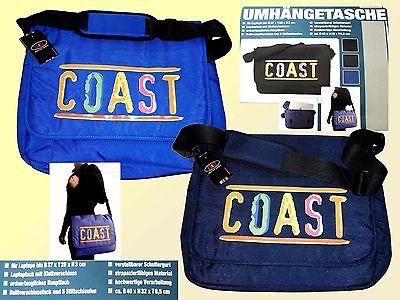 große Laptoptasche Umhängetasche Tasche Schultasche Collegetasche 40x32x8,5  NEU