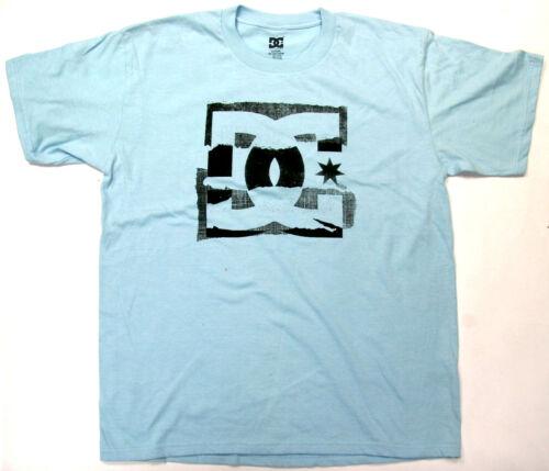 DC Boys T Shirt DC Skate 100/% Cotton Light Blue DC Shoes Brand  DC
