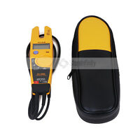Fluke T5-1000 Voltage Continuity Current Clamp Meter With Labloot Holster