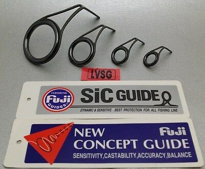 1pc Fuji Tackle KBSG K SIC Guide Fishing Rod Repair Choose Size