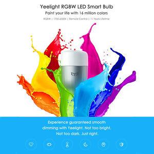 Xiaomi-Yeelight-220V-9W-E27-LED-Wireless-Wifi-Control-RGB-Smart-Color-Light-Bulb