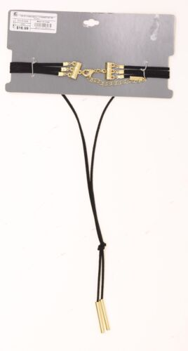 NWT Sugarfix by Baublebear Wrap Choker MSRP $16.99 Black 07083