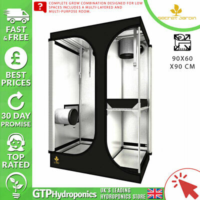 Secret Jardin Lodge L90 - 90 X 60 X 135 Rev 2.6 Grow Tent- Per Garantire Una Trasmissione Uniforme