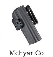 Glock 27 Belt Holster Level 2 Black Rh Glock 27 Duty Holster