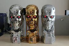 Hot 1/1 Terminator T800 Skull Figure Statue Life-Size Bust Model Toy Collectible