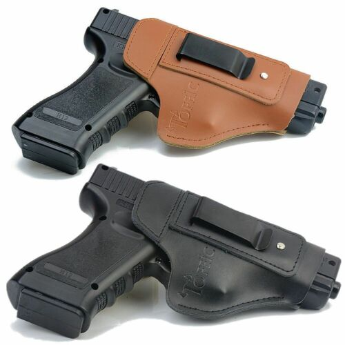 Concealment Leather Pistol holster IWB CCW CPL for Glock Sig Sauer S&W Ruger Gun