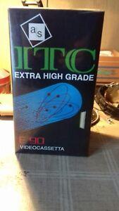 STOCK DI 3 VIDEOCASSETTE VHS ITC DA 90 MINUTI SIGILLATE - Italia - STOCK DI 3 VIDEOCASSETTE VHS ITC DA 90 MINUTI SIGILLATE - Italia