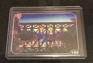 162 Limited Run Games Thimbleweed Park 162 Silver Trading Card Assurer IndéFiniment Une Apparence Nouvelle