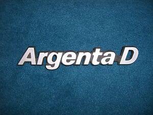 Emblem-Badge-Fiat-Argenta-Diesel-D