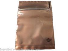 """100x Silver Anti Tarnish + Corrosion Intercept ® 1/2 clear 4"""" x 4"""" zip-loc bag"""