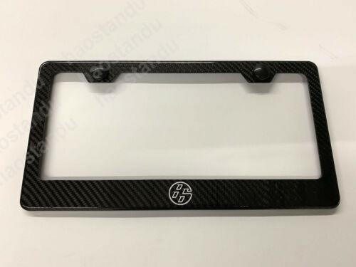 """1x /""""86/"""" Real 3K Twill Weave CARBON FIBER License Plate Frame Holder 86 FR-S"""