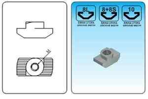 T-Slot-Aluminum-Profil-Nuts-Hammer-Serial-8-8L-10-M4-M5-M6-M8-1-10-100pcs