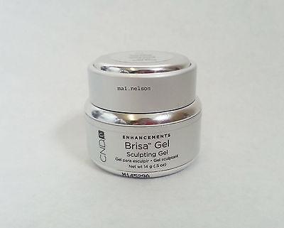 0.5oz Creative Nail CND BRISA UV Pure PINK Sheer SCULPTING GEL / Polish NAILS