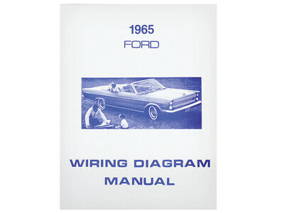 New 1965 Galaxie Wiring Diagram Manual Schematic 500 XL ...