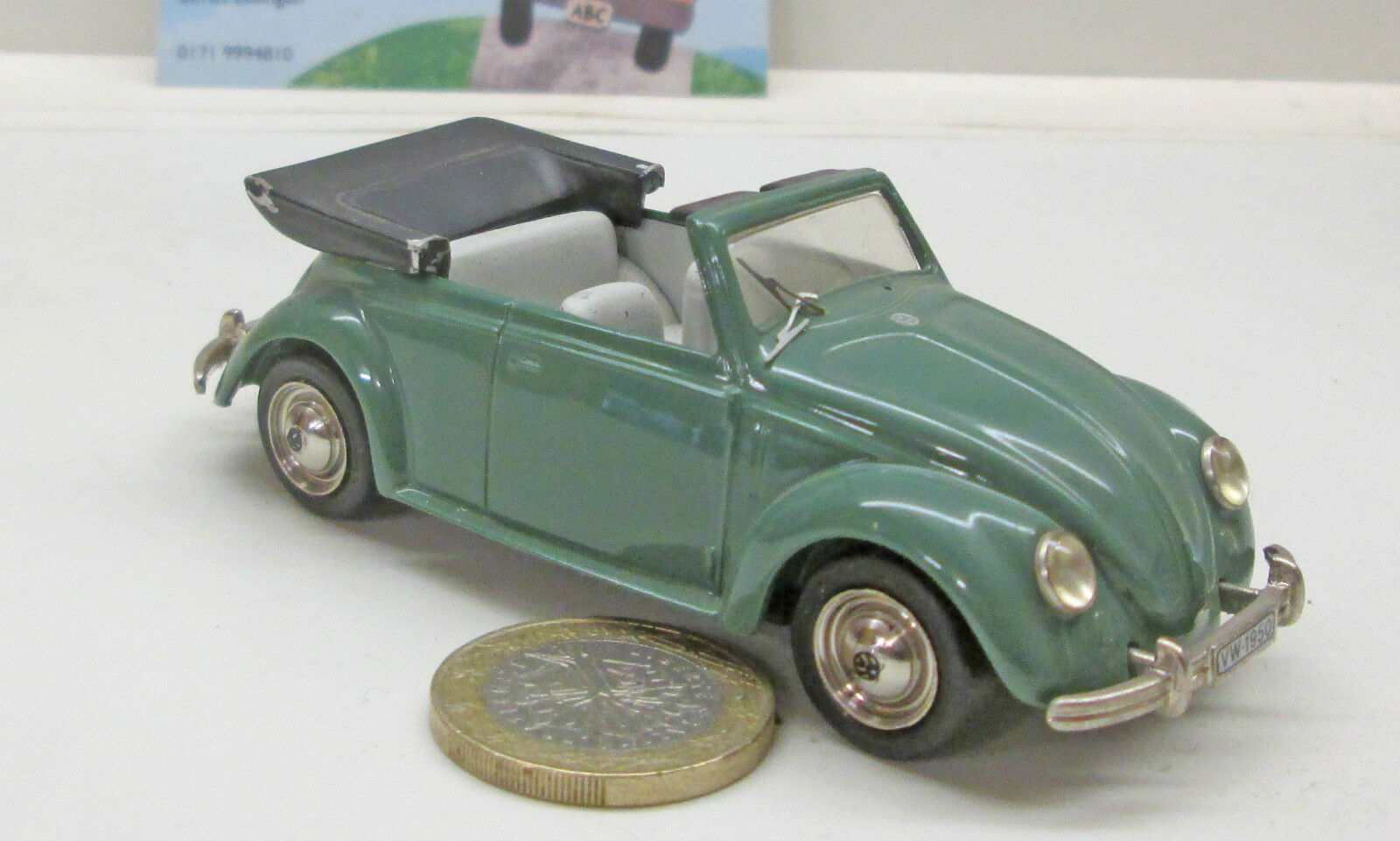 sorteos de estadio Century nº 1500  VW EsCocheabajo 1200 cabriolet, cabriolet, cabriolet, verde (550)  nuevo estilo