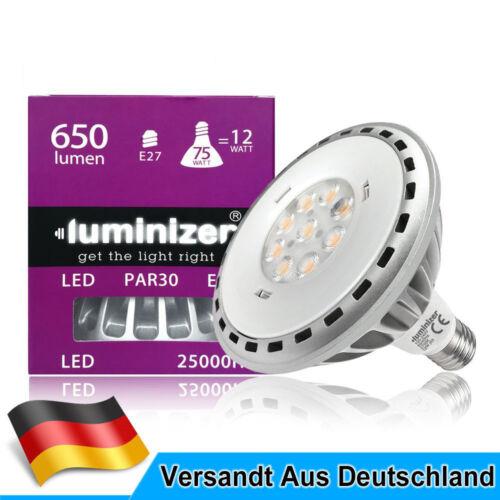 E27 12W=75W//15W=100W PAR30//PAR38 LED Glühbirne AC 100-240V Warmweiß
