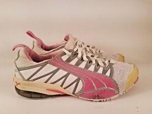 6cb6e809fb02 PUMA Women s Voltaic 4 Mesh Cross-Training Shoe Pink Silver Sz 6.5 ...