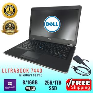 DELL-LAPTOP-LATiTUDE-e7440-Ultrafast-Intel-i5-i7-Grade-A-Business-Class-WIN10