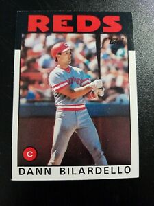 1986 Cincinnati Reds - Near Mint - Topps #253 Dann Bilardello
