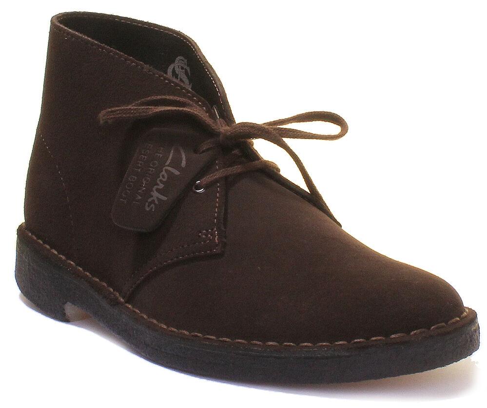 Clarks Originals Desert Boot da da da Uomo in Pelle E Pelle Scamosciata Stivali 93da87