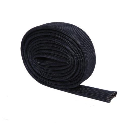 "Hiwowsport HEAT FIBERGLASS SLEEVE 1//2/"" Diameter 2m Length Black"