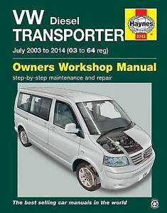 vw transporter t5 diesel owner s workshop manual by john mead rh ebay co uk Dual Cab Ford Ranger Dual Cab 2WD 2WD