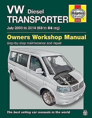 VW Transporter (T5) Diesel Owner's Workshop Manual by John Mead (Paperback,  2015) for sale online | eBay