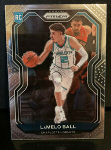 2020-21 Panini Prizm - Lamelo Ball Base Rookie Card #278 Charlotte Hornets RC 📈
