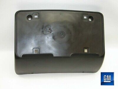 06-08 Buick Lucerne Front Plastic License Plate Mounting Bracket NEW GM 506