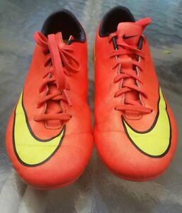 ffaa8038698a Image is loading NIKE-Mercurial-Soccer-Cleats-Youth-651634-690-Size-