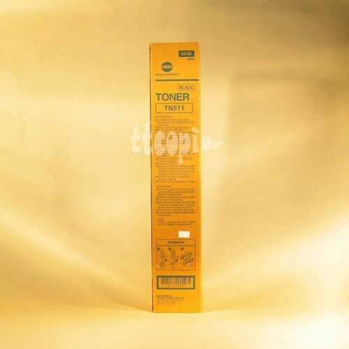 TN511 024E Genuine Toner Cartridge for Konica Bizhub 501 421 361 500 420 360