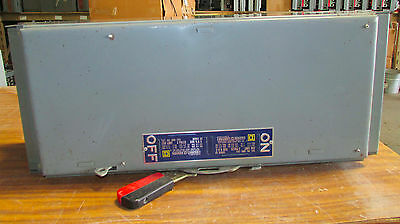 X Square D QMB364 200 Amp 600 VAC 3 Phase Fusible Panel Board Switch